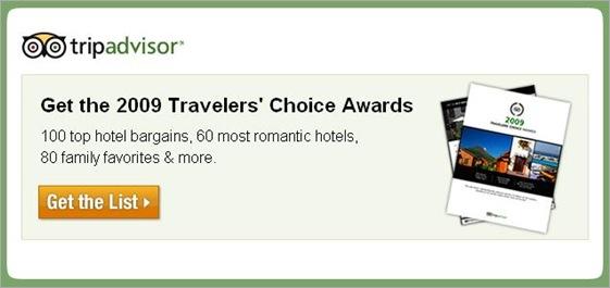 Trip Advisor 2009 Traveler
