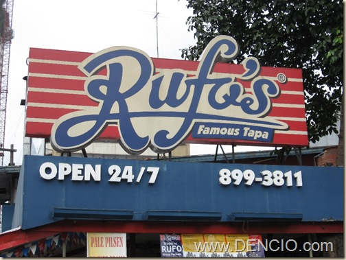 Photo of Rufo's Famous Tapa