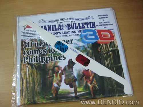 Photo of Manila Bulletin 3D Newspaper
