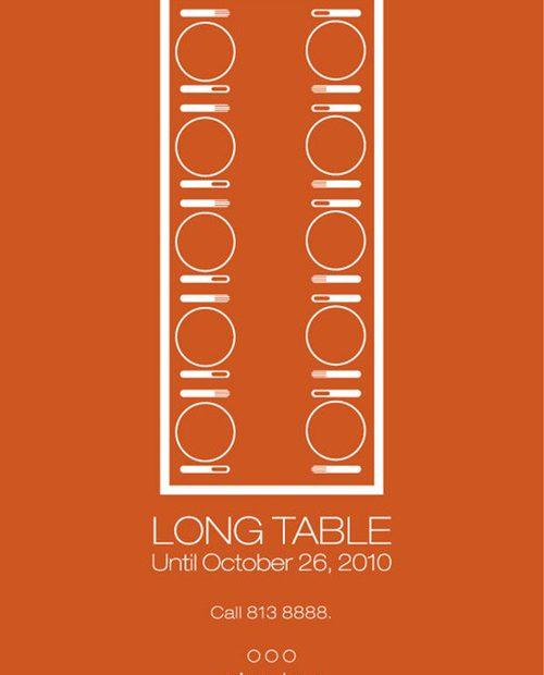 Circles Long Table
