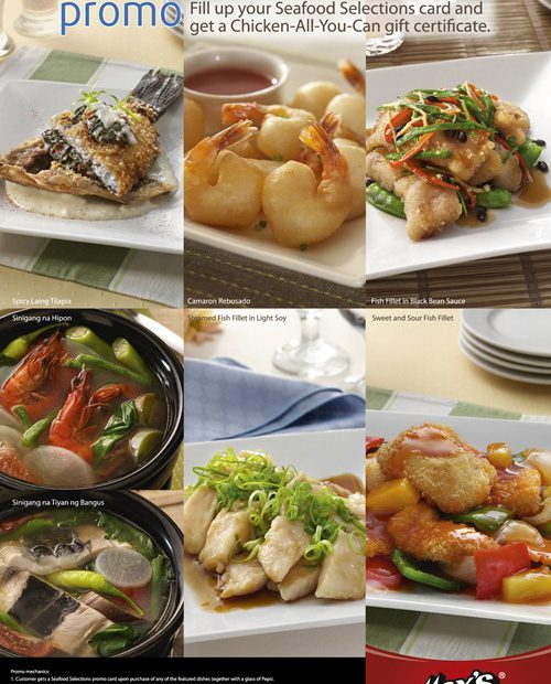 Seafood Selections Promo poster