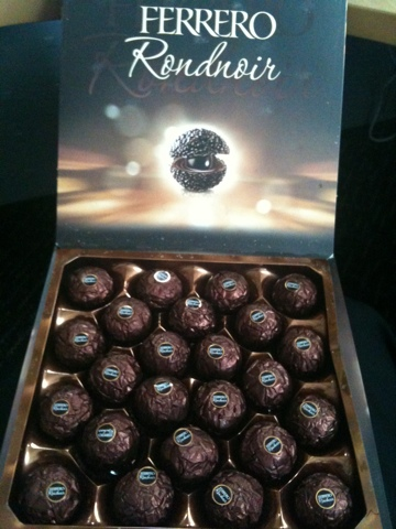 Photo of My new favorite chocolate! Dark Ferrero!