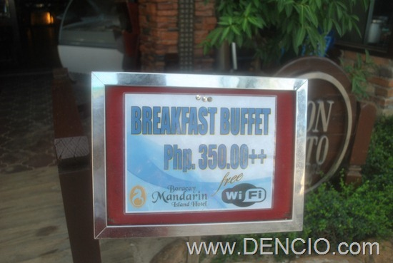 Photo of Breakfast Buffet at the Boracay Mandarin Island Hotel