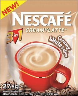 NESCAFE 3in1 Creamylatte Sachet