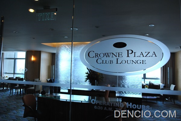 Photo of The Club Lounge at Crowne Plaza Manila Galleria