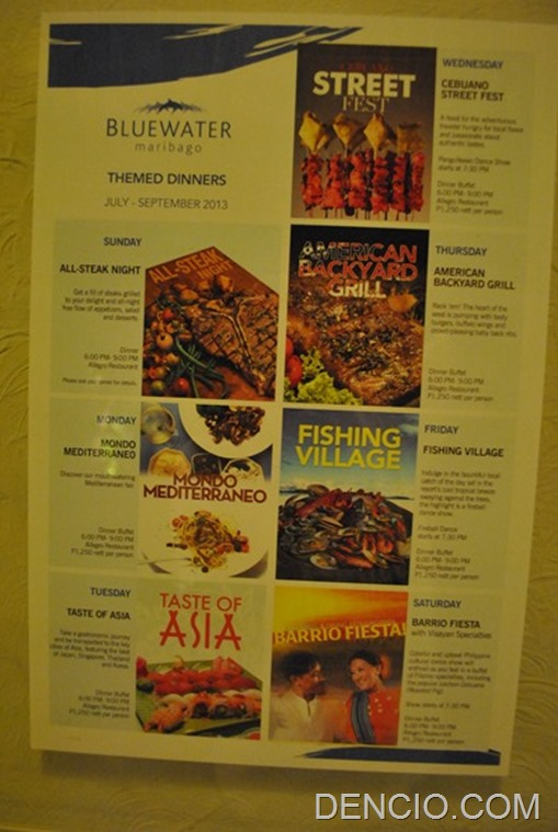 Photo of Themed Dinner Buffets at Bluewater Maribago Resort