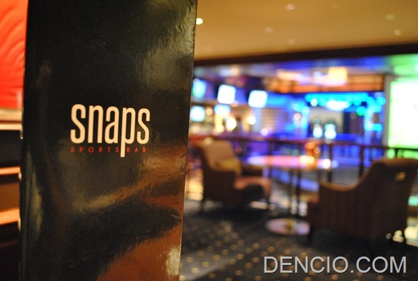 Photo of Snaps Sports Bar: Because there's more to Sofitel than just Spiral!